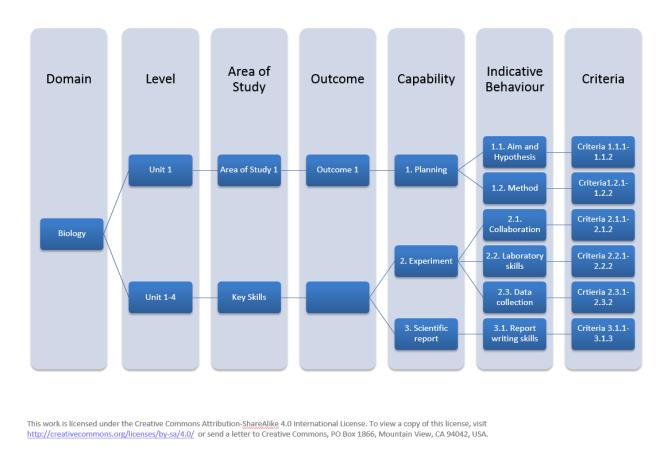Biology curriculum framework